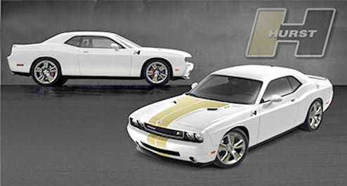 Hurst/Hemi Challenger Teased Ahead Of SEMA Launch