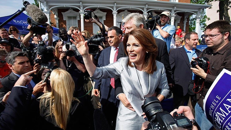 Michele Bachmann Launches Presidential Campaign