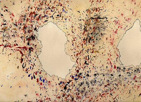 Entomologist creates one-of-kind paintings using live bugs as his paintbrush