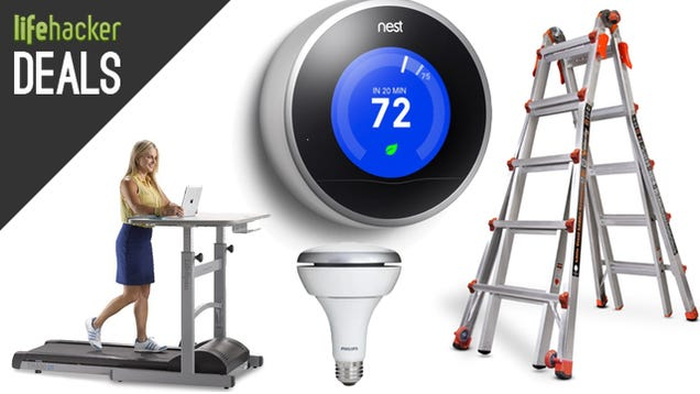 Deals: Rare Nest Thermostat Discount, Motorola Modem, Treadmill Desk