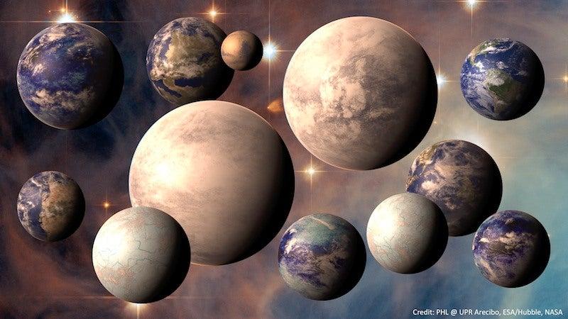 """Descubren el planeta """"Super Tierra"""""""