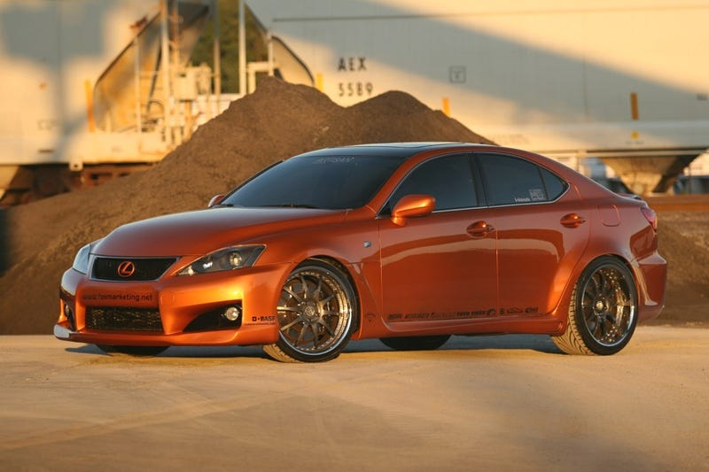 Twin-Turbo Lexus IS-F: A Proper Jet Car Substitute