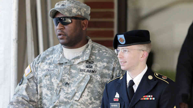 Manning Found Not Guilty Of Aiding The Enemy