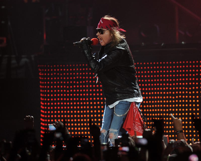 Axl Rose Tells Rock and Roll Hall of Fame Thanks But No Thanks For Guns N' Roses Induction