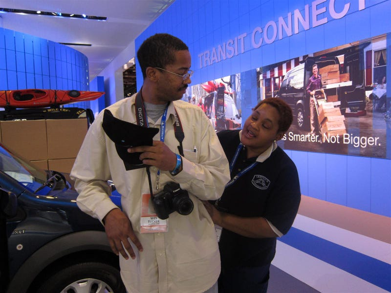 Booth Professionals of the 2010 Detroit Auto Show