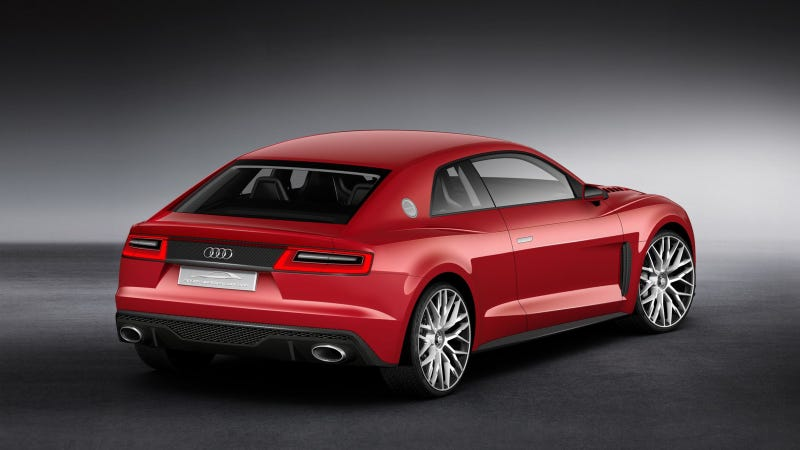 Audi's CES Concept Has Freaking Lasers For Eyes
