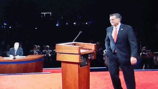 Did Romney Use a Cheat Sheet on Wednesday? And Other Debate Conspiracy Theories