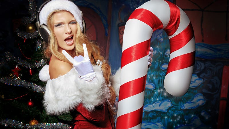 The Unbelievably Absurd World of Sexy Santa Photos