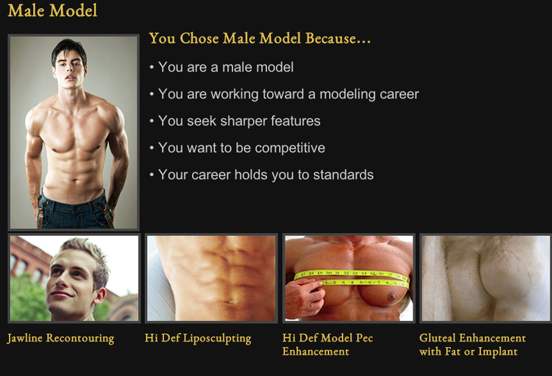The Manly World of Manly Plastic Surgery for Manly Men