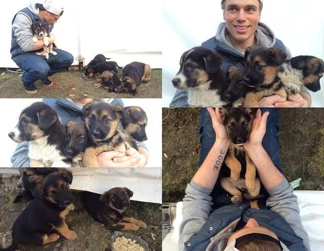 Puppy-Loving Olympic Silver Medalist Gus Kenworthy for President