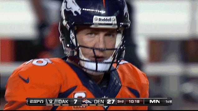 "Peyton ""FIGJAM"" Manning: Your Monday Night Football GIF Roundup"