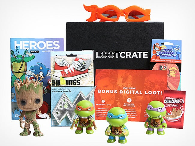 Get 15% Off Loot Crate's Monthly Geek & Gamer Box In Time For Halloween