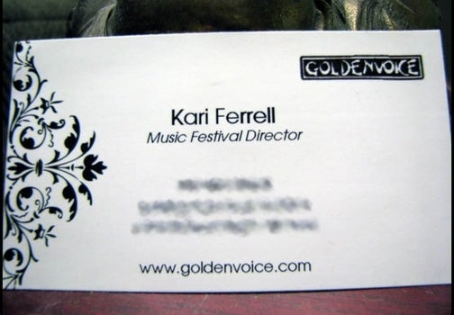 Kari Ferrell, Folk Hero. Sorry.