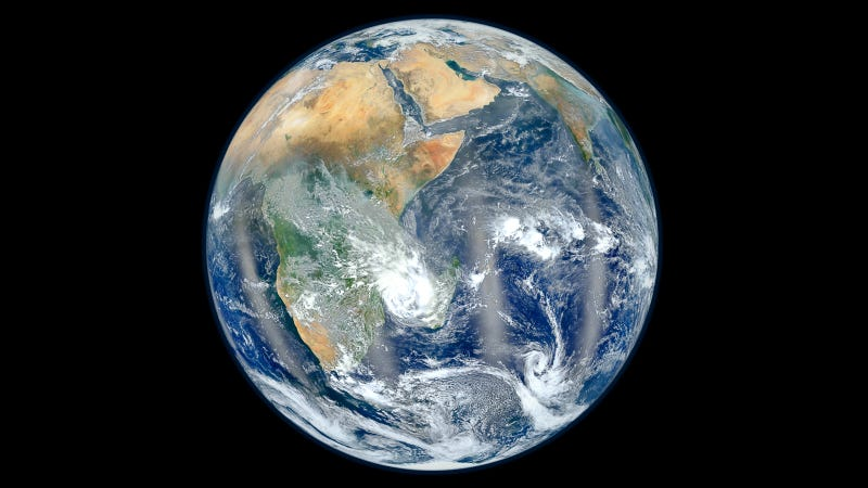 """Most Amazing Earth Image"" From the Other Side"