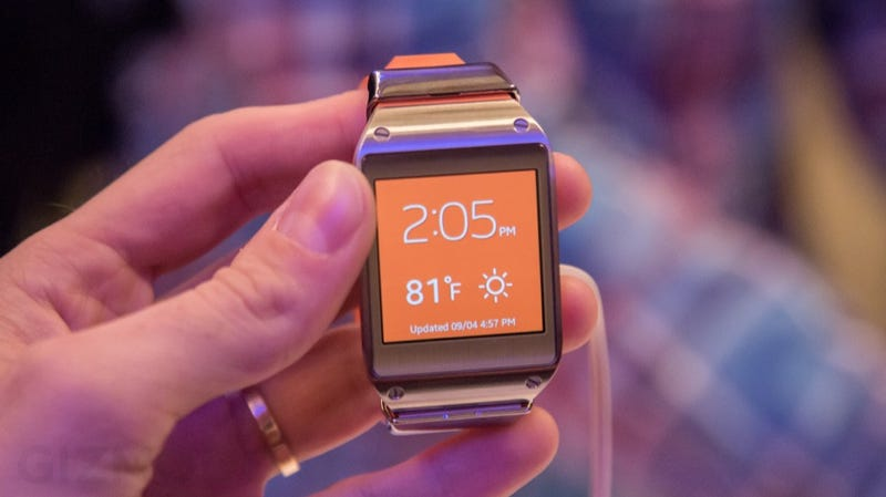 Así es el Galaxy Gear, el smartwatch más avanzado de Samsung
