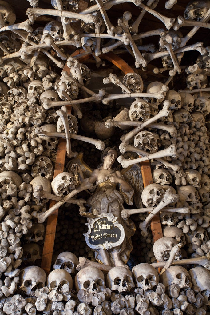 These Buildings Are Made with Skulls and Bones