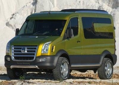 Camper Van Beethoven: VW Reveals Atacama Concept