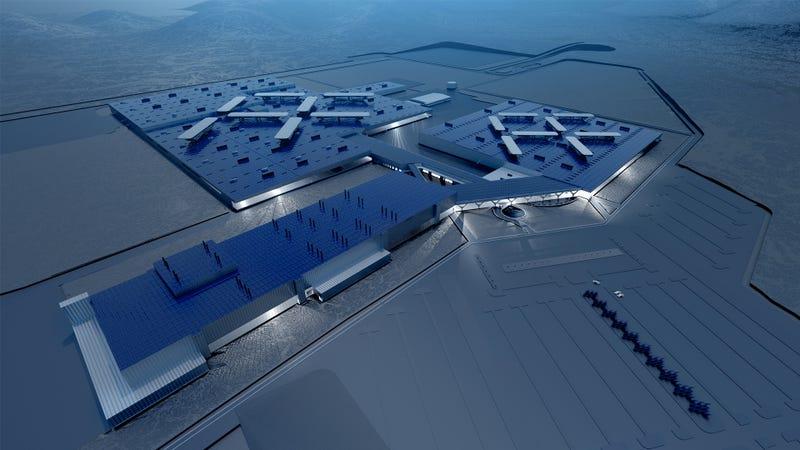 Luxury Resort Or Automotive Factory?