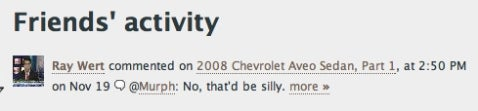Users Guide to Jalopnik: New Comments Features Addition