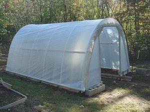 Build a Cheaper Backyard Greenhouse