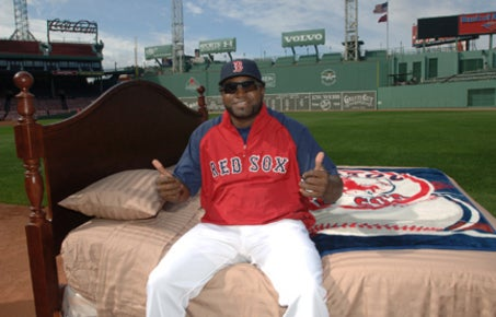 Big Papi's Bed Will End Homelessness, Achieve Peace In The Middle East