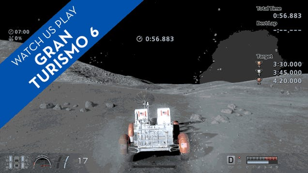 If Driving On The Moon Is This Hard, I'm Amazed Anyone Survived It