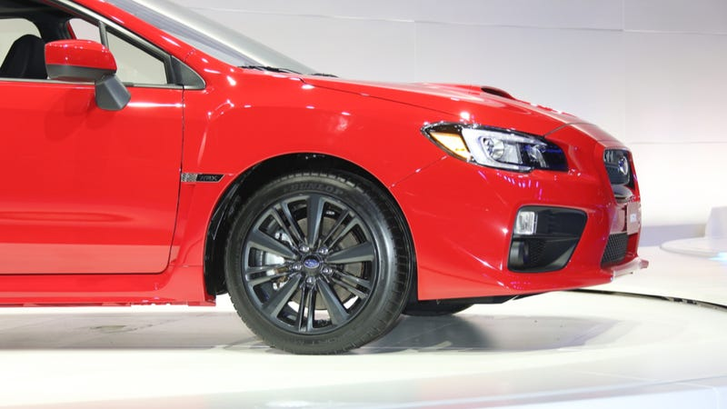 The 2015 Subaru WRX Isn't Ugly But It Is Boring