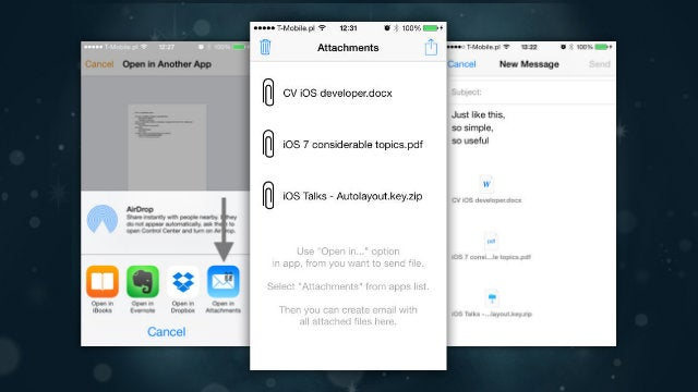 Multiple Attachments Makes Attaching Files in iOS Less Painful