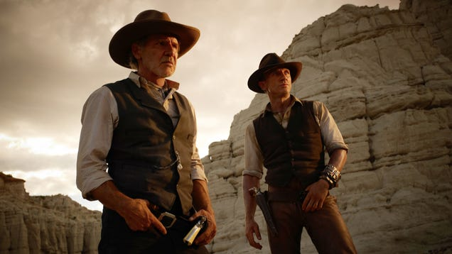 Cowboys and Aliens will blow you away and make you cry