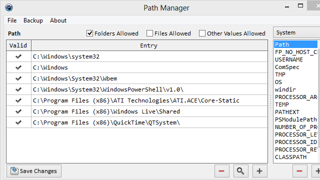 Path Manager Makes the Run Dialog and Command Prompt More Useful