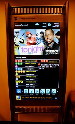 NYC Subways Getting Their Very Own 47-Inch Touchscreens