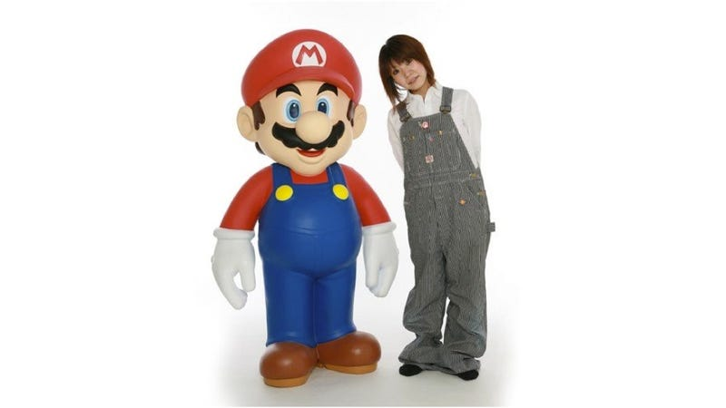 Life-Sized Mario Can Be Yours for Nearly $3,000