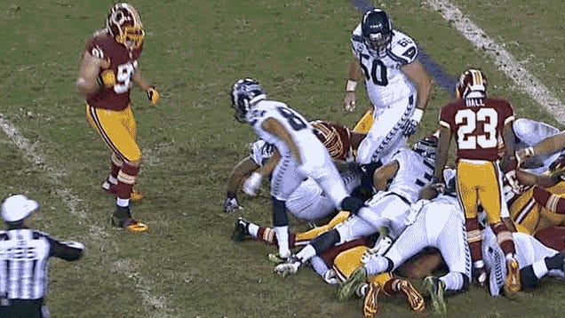 Dr. James Andrews For Head Coach: Seahawks-Redskins, In Five GIFs