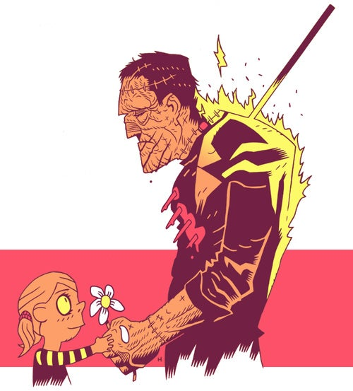 Monsters, Mutants, and Mashups by Dan Hipp