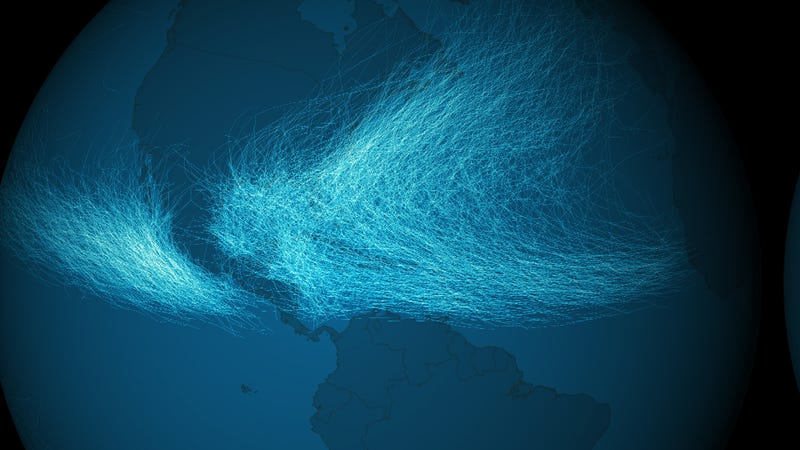 170 Years of Hurricanes Mapped In One Stunning Image