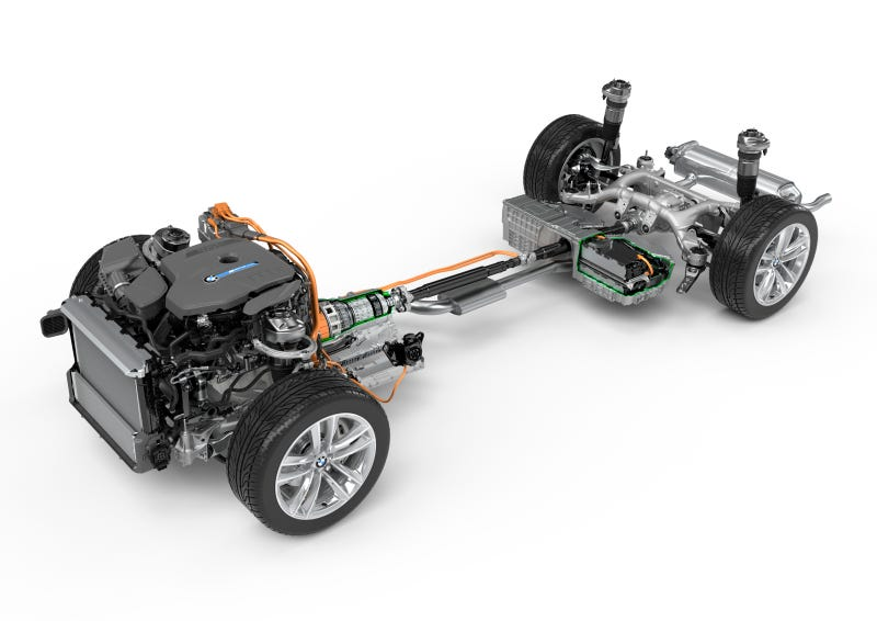 BMW Drops Torquey Plug-In Hybrid Madness Into Cars Under The Name 'iPerformance'