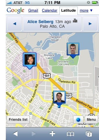 Google Latitude Comes to the iPhone