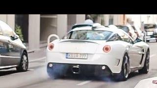 Life Is Great So Here's A Hideous Ferrari Doing Burnouts In Monaco