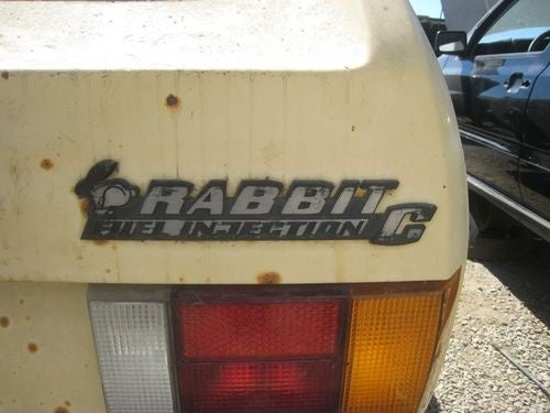 1978 Volkswagen Rabbit Down On The Junkyard