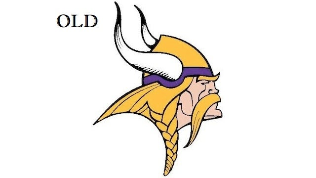 Can You Find The Five Differences In The New Vikings Logo?