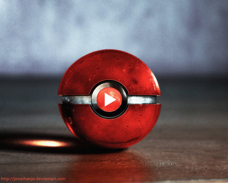 Tumblr, Youtube, And Reddit-Themed Pokeballs