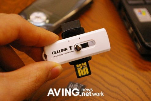 Cellink T USB Thumb Drive Stores, Links