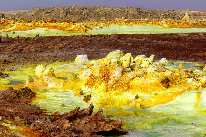 New Toxic Hot Spring Looks Like an Acid-Fueled Nightmare