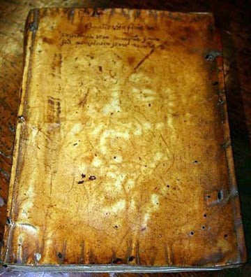 Anthropodermic Bibliopegy, or The Truth About Books Bound In Human Skin