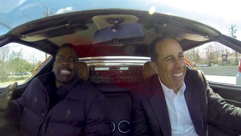 Jerry Seinfeld And Chris Rock In A Lambo Miura Is Comedy Perfection