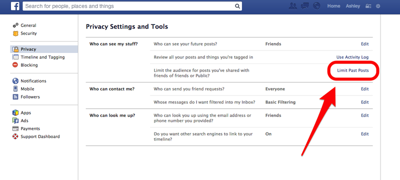 How to Lock Down Facebook Privacy Now That Old Posts Are Searchable