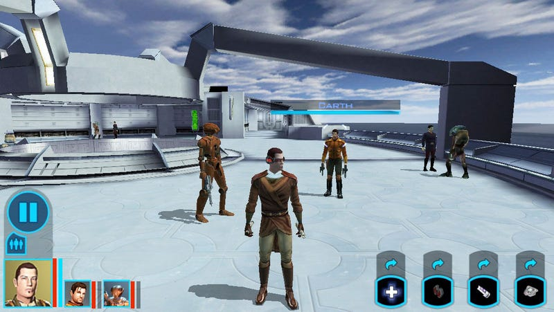 Now You Can Play Knights Of The Old Republic On The iPhone
