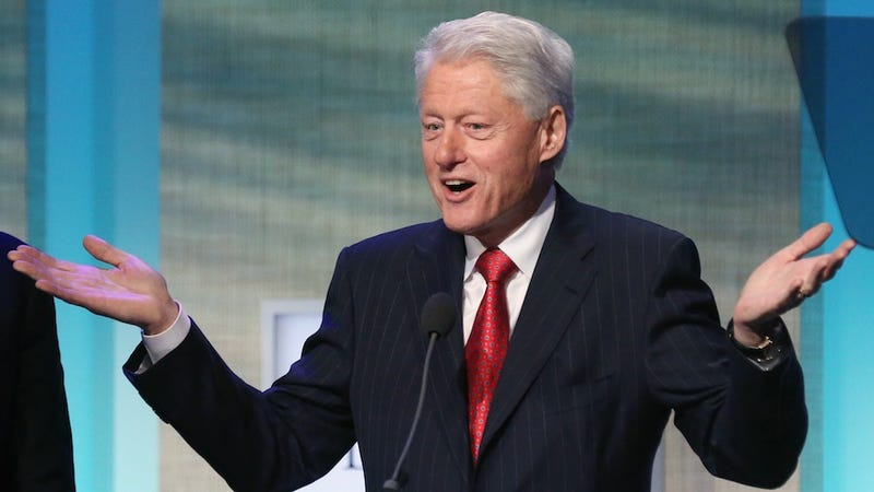Bill Clinton Helps Women in Developing Countries Get Kinda Shitty Birth Control