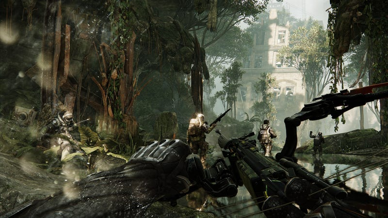 This Crysis 3 Screenshot Is Sticky Like An Arrow To The Chest