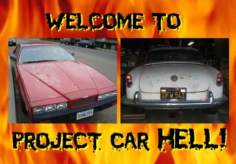 Project Car Hell: Lagonda or Giulietta?